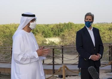 Đặc phái viên Mỹ J. Kerry thăm UAE  hợp tác chống biến đổi khí hậu, phát triển năng lượng sạch