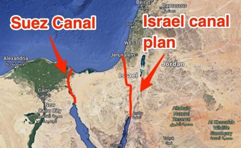 Kênh Israel: Giải pháp thay thế Kênh đào Suez?