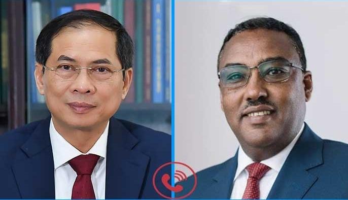 Bộ trưởng Ngoại giao Bùi Thanh Sơn điện đàm với Phó Thủ tướng, Bộ trưởng Ngoại giao Ethiopia
