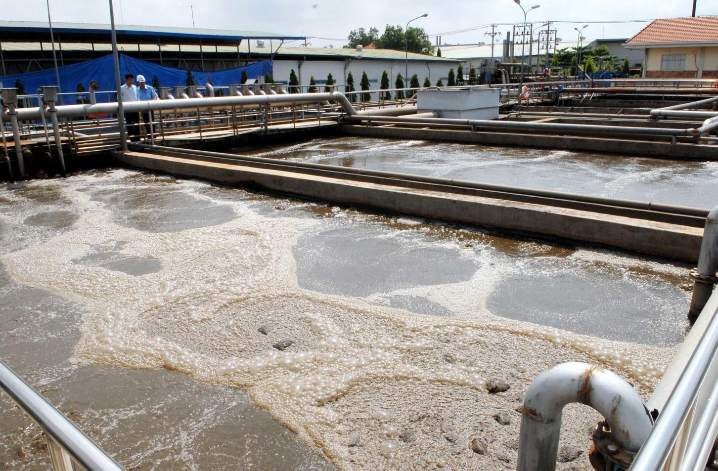 Các khu công nghiệp phải xây dựng, vận hành hệ thống xử lý nước thải tập trung