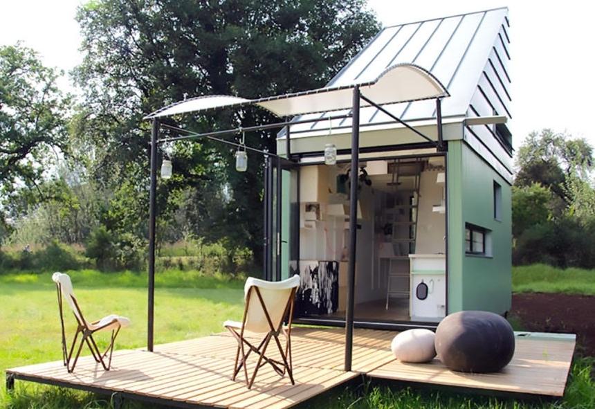 """Những ngôi nhà """"di động"""" sử dụng năng lượng mặt trời"""
