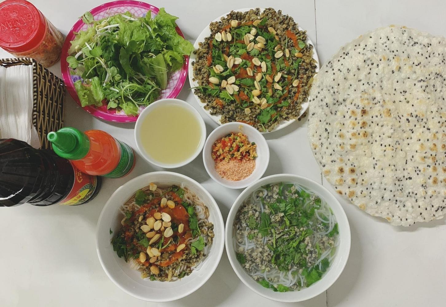 Bún hến Mai Xá Quảng Trị - Top 100 món ăn đặc sản Việt Nam