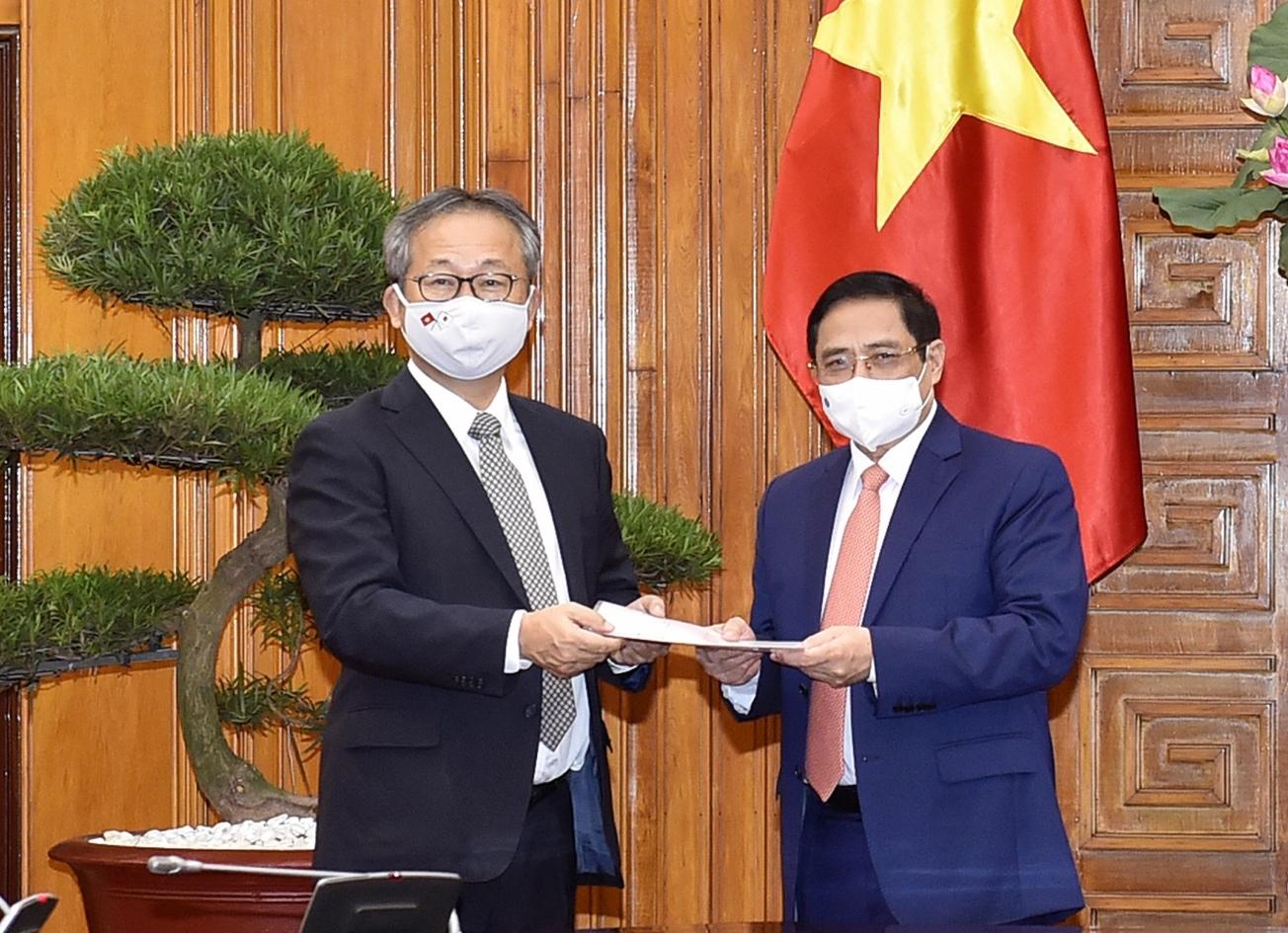 Nhật Bản hỗ trợ Việt Nam 1 triệu liều vaccine để phòng chống COVID-19