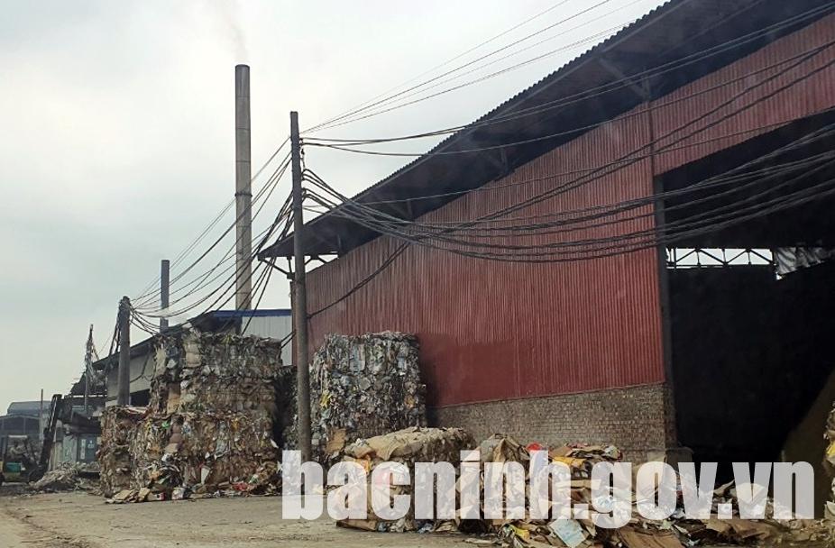 Bắc Ninh: Xử phạt 3 doanh nghiệp vi phạm bảo vệ môi trường tại phường Phong Khê