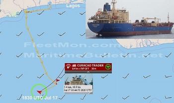 Cướp biển bắt giữ tàu dầu ở Vịnh Guinea