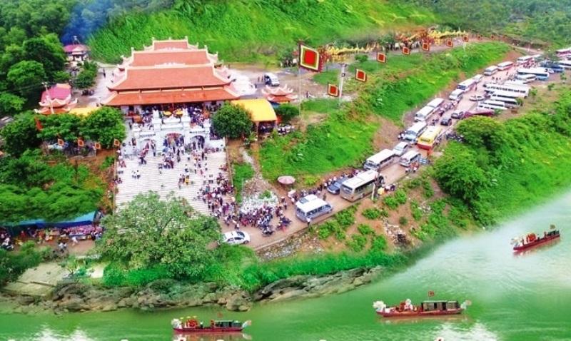 Tạm dừng tổ chức lễ hội đền Hàn Sơn ở Thanh Hóa