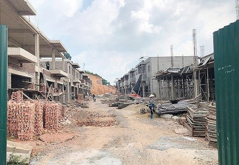 Xây dựng không phép, Công ty Cổ phần đầu tư APEC Thái Nguyên bị phạt 40 triệu đồng