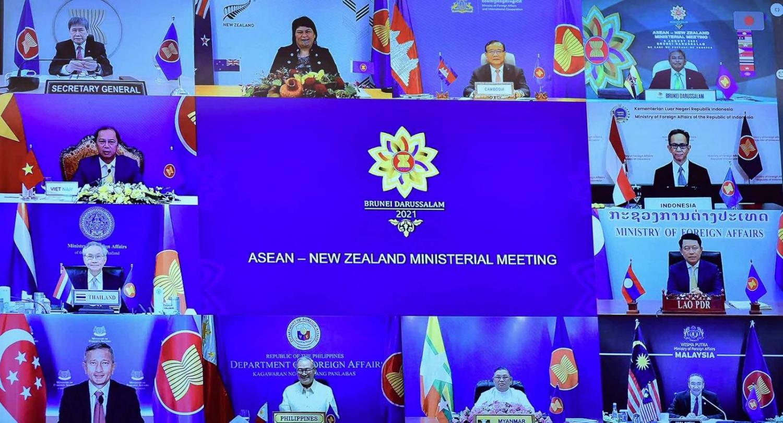 Hội nghị Bộ trưởng Ngoại giao ASEAN - New Zealand