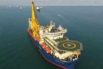 """Tàu Akademik Chersky"""" chưa sẵn sàng để hoàn thành việc xây dựng """"Nord Stream-2"""""""