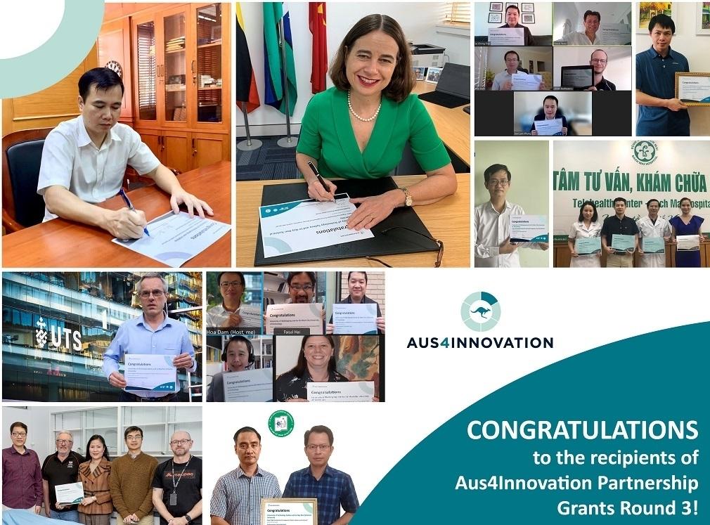 Australia công bố tài trợ bốn dự án chuyển đổi số ở Việt Nam