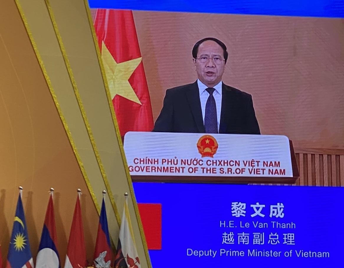 Phó Thủ tướng Lê Văn Thành dự lễ khai mạc CAEXPO và CABIS lần thứ 18