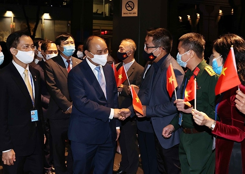 Chủ tịch nước Nguyễn Xuân Phúc tham dự khai mạc Phiên thảo luận chung cấp cao Khóa họp thứ 76 Đại hội đồng LHQ