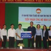 BIDV tặng 01 tỷ đồng hỗ trợ đồng bào bị ảnh hưởng bởi lũ lụt tại Thừa Thiên Huế, Quảng Nam
