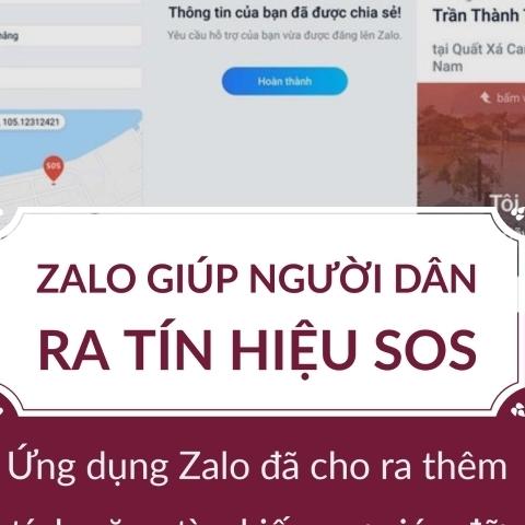 Zalo giúp người dân ra tín hiệu SOS trong bão, Ant Group IPO thành công