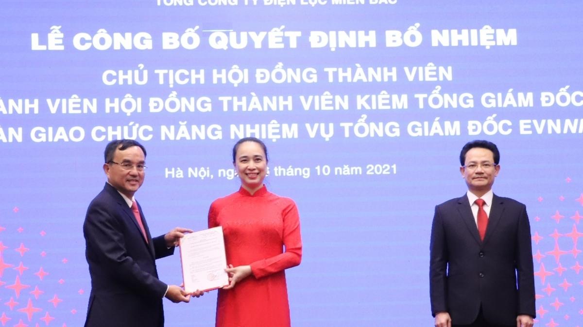 EVNNPC công bố Quyết định Chủ tịch HĐTV và Thành viên HĐTV kiêm Tổng Giám đốc