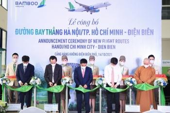 Lãnh đạo Cục Hàng không: Chuyến bay thẳng đầu tiên của Bamboo mở ra trang sử mới cho hàng không Điện Biên