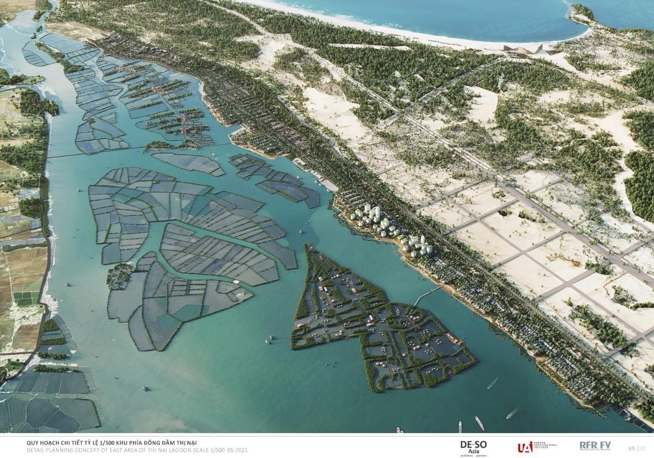 Bình Định: Phê duyệt quy hoạch 1/500 và sự chuyển mình của đầm Thị Nại