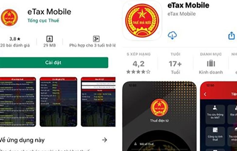 Tổng cục Thuế giới thiệu ứng dụng eTax trên nền tảng thiết bị di động