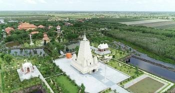 Chiêm ngưỡng bốn mô hình thánh tích Phật giáo ở thiền viện Trúc Lâm Chánh Giác