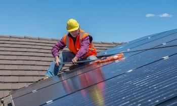 Điện mặt trời tăng thị phần trong năm 2021