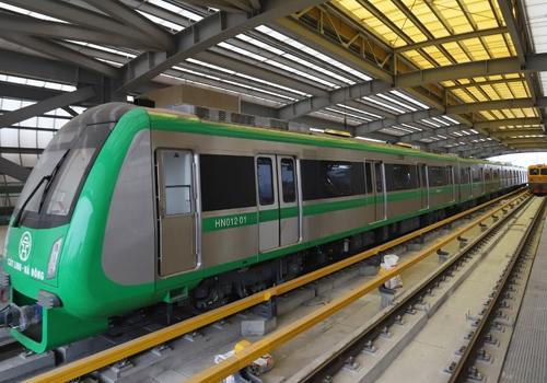 Chạy thử đường sắt Cát Linh-Hà Đông trong tháng 8