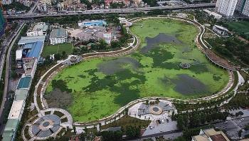 Công viên trăm tỷ giữa Hà Nội chậm đưa vào sử dụng