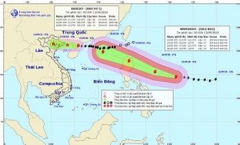 Bão số 5 suy yếu thành áp thấp nhiệt đới, bão Mangkhut diễn biến phức tạp