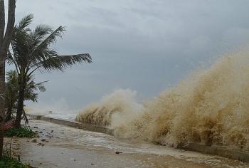 Ảnh hưởng hoàn lưu bão số 5, khu vực Đông Bắc mưa to