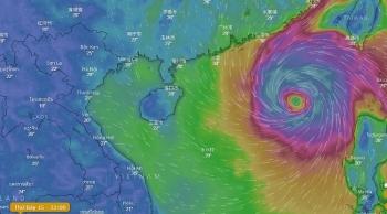 Ảnh hưởng của bão số 6, Bắc Biển Đông có gió giật cấp 15