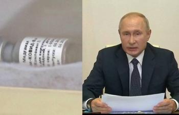 Ông Putin ra lệnh Nga tiêm chủng đại trà vaccine Covid-19