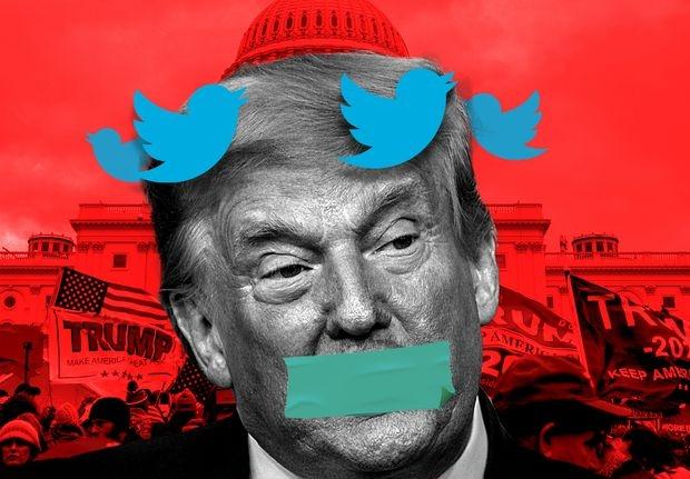 Nga lên tiếng về vụ ông Trump bị xóa tài khoản  Facebook và Twitter