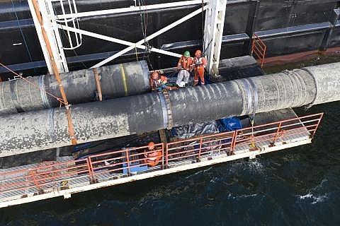 Vì sao Nord Stream 2 chưa thể khởi động lại ở vùng biển Đan Mạch?