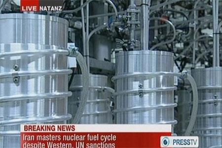 Iran lắp đặt máy làm giàu uranium hiện đại
