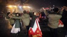 Người dân Triều Tiên nhảy múa ăn mừng vụ phóng tên lửa