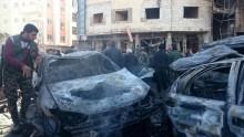 IS đánh bom câu lạc bộ cảnh sát ở Damas