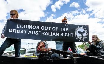 equinor tu bo tham do dau khi o vinh great australian bight