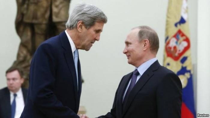 John Kerry sang Nga học nghệ thuật chiến tranh của ông Putin