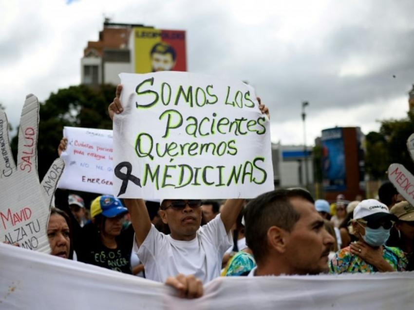 benh vien o venezuela thieu 88 cac loai thuoc