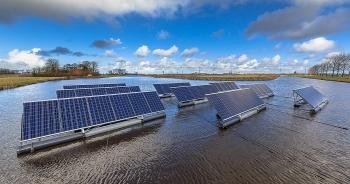 Litva xây dựng nhà máy điện mặt trời nổi