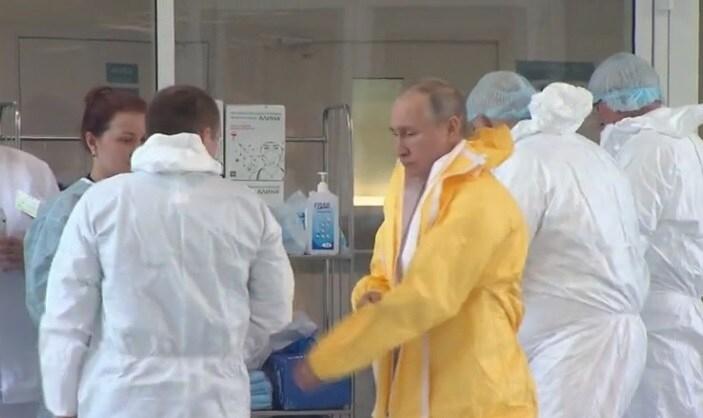 Trường hợp đầu tiên nhiễm coronavirus trong Điện Kremlin