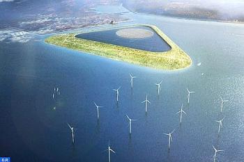 Đan Mạch xây đảo điện gió cung cấp điện cho 10 triệu hộ gia đình