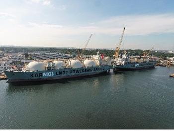 Singapore thử nghiệm tàu FSRU cung cấp LNG cho nhà máy điện nổi của Senegal
