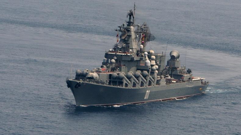 Tàu chiến của Nga và Mỹ cùng tới bán đảo Triều Tiên