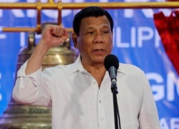 Dầu mỏ: Tổng thống Philippines không ngại điều tàu chiến đến Biển Đông