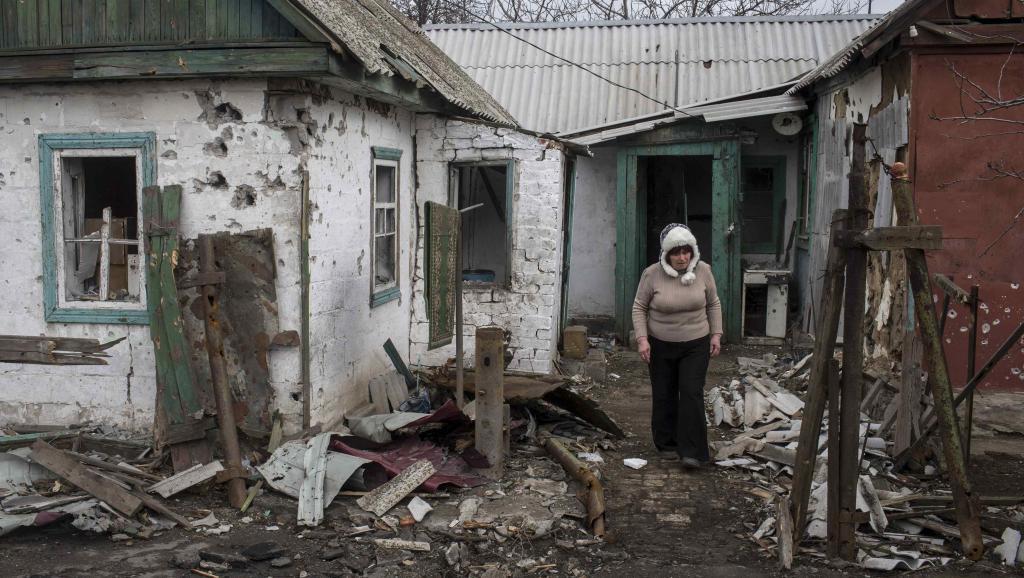Kinh tế Ukraina đã kiệt quệ