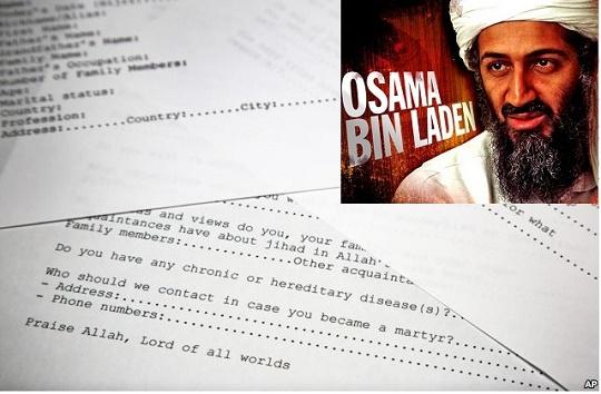 Công bố những mật thư của Osama bin Laden