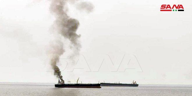 Lại cháy tàu chở dầu ngoài khơi Syria