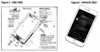 Apple bị cáo buộc ăn cắp sáng chế iPhone và iPad