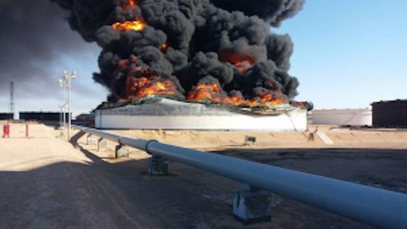libya vong luan quan dau mo xung dot