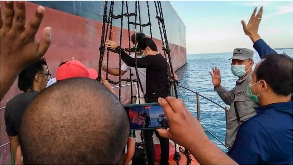Indonesia thả hai tàu chở dầu của Iran và Panama sau 125 ngày giam giữ